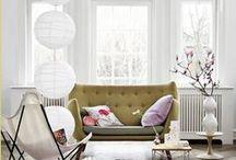 Natural Interiors / Natürliche Dekorationen für Zuhause.