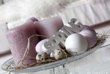 Happy Easter  / Schöne Dekorationen und Ideen zu Ostern.