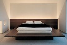 Beds and Bedrooms / Beds, colours and textures
