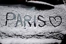 Paris in the Snow / What a beautiful site to see Paris under a white blanket of snow!