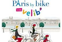 Paris by Bike / Love the bicycles in Paris... plus it's the best way to get around!