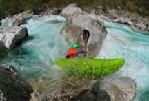 KAYAK / Kayaking in Soča river