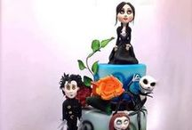Tim Burton´s characters on cakes / by Dynamite Cakes