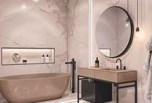 Bathrooms / Shower, bath and powder rooms