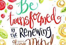 Faith Art journal inspiration.