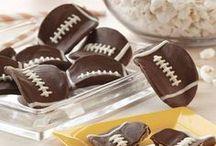 Superbowl Football Snacks & Fingerfood