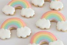 Motivkekse, Cookie Art & Royal Icing / Ein Board voller Motivkekse ♥