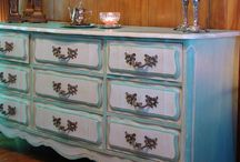 Distressed Furniture By Us / by How To Distress Furniture