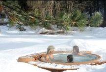 WINTER - Vířivka v zimě / Zima, vířivka v zimě, #vířivka na zahradě, #winter #spa