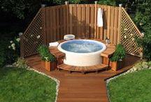 Outdoor Softub / Solution for Softub #outdoor use. Řešení pro #vířivky Softub venku - nejen na zahradě