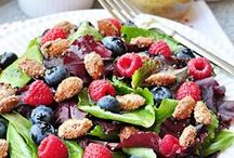 {Recipes} Smashing Salads (and Dressings) / Sweet and savory salads / by Samantha @ Five Heart Home