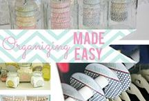 Cleaning & Organizing / Organizational inspiration, tips, tricks, and printables.