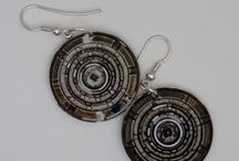 Jewelry made ​​from recycled material - Upcycled - DIY and Crafts / Jewelry with precious materials!
