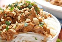 {Recipes} Asian-Inspired Fare / Asian-inspired recipes...Chinese food, Thai cuisine, and more! / by Samantha @ Five Heart Home