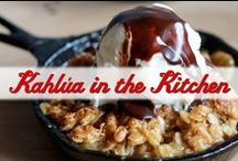 Kahlua in the Kitchen / Need a recipe idea? Look no further: Kahlua loves to cook!  From sweet to savory, here are some of our favorites. / by Kahlua