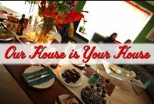 Our House is Your House / Love being a host and being surrounded by friends and family? We do too! Get inspired with these flavorful cocktails and dishes, beautiful displays, and playful settings. Go ahead, indulge a little. We dare you. / by Kahlua