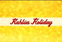 Kahlua Holiday Inspiration / We're experts when it comes to holiday entertaining, and we invite you to share in our celebrations! Here are some of our favorite cocktails, food recipes, entertaining and gifting ideas that are sure to inspire your holiday festivities!