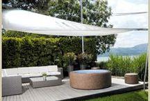 Terrace - Terasy / Softub at our clients on terrace. #Vířivky Softub na terasách a balkónech #Terasy #balkony