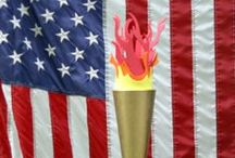 Olympic Spirit / Recipes, activities, and crafts for enjoying the Olympics!
