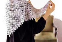 crochet shawl scarf / http://crochet103.blogspot.com/search/label/Shawl%20scarf