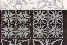 crochet motifs / http://crochet103.blogspot.com/search/label/motifs