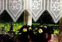 Crochet Curtains / Crochet Curtains http://crochet103.blogspot.com/search/label/curtains