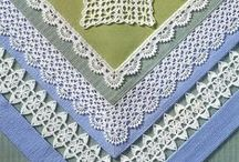Crochet  Edgeing / http://crochet103.blogspot.com/search/label/Edgeing
