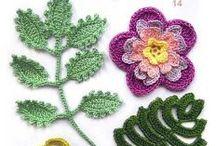 Crochet Flowers / Crochet Flowers http://crochet103.blogspot.com/search/label/Flowers