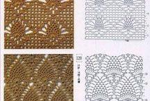 stitchs Pattern / http://crochet103.blogspot.com/search/label/Pattern