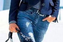 """★  Jeans e sua versatilidade / """"Jeans é nostalgia e contemporaneidades. High fashion, low fashion. Caro, barato. Sexy e unissex. É a metáfora que nos conserva aquecidos"""" (Lewis Backwell — editor da Cretive Review)"""
