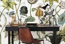 wallprint lover / gauw een andere sfeer maken met behang of een leuke poster