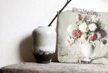 brocante style / een brocant stuk servies of kastje of...geeft iets extras aan je huis