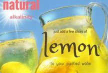 Infusing Waters / How to use purifiedh20 and fresh fruits & veggies for addes great flavors