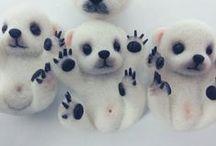 Cute Needle Felt Animals