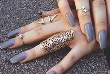 lady-like nails for beautiful women /  proper nail art for proper ladies
