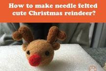 Needle Felting: From Beginner to Master / You can find needle felting tutorials from us in the board. Include post, long pin, and video. If you're a beginner of needle felting, everything you need to know is here. If you have any question, just leave a comment, we'll reply you ASAP:)