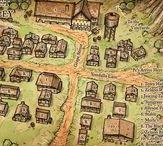 D&D maps & build's