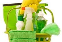 Cleaning & Cleaning Supplies / Cleaning tips, cleaning schedules, recipes/tutorials for homemade cleaners, and tips for organizing cleaning supplies. / by From Overwhelmed To Organized