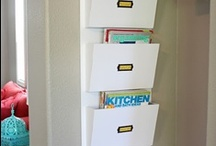 Organizing Products / Some products to help you get organized. {I'm not affiliated with any of these - I just like them!}