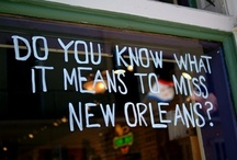 NEW ORLEANS / by Martin Hunley