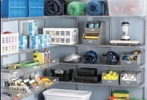 """Garage / Attic / Basement Organizing / Wherever you store all your extra """"stuff"""" - garage, attic, basement, storage room - this board has tips to help you organize it!"""