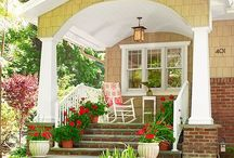 Porches and patios / by Brenda Nesmith