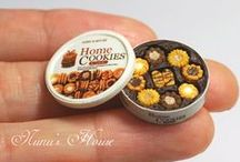 dollhouse food / These are pictures of miniature, fake, dollhouse food. I have boards of real food too!!! / by Lulu K