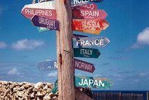 Around the world / by Rime Dadis