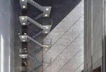Escaliers Escaleras  / Tout pour monter et pour descendre Todo para subir y para bajar ... / by virtus del hoyo