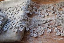 Crochet Lace/Charts/Edgings / Crochet Lacey edgings / by Maria M. Rivera Felix