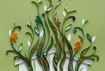 QUILLING INSPIRATION tarafından / I'm a noob to Quilling but its so fascinating I'm not giving up quite yet./Tamra Kimzey