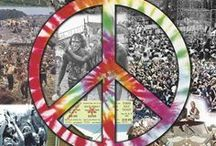 Woodstock & Rainbows / Three Days Of Peace & Music - Artists & Scenes - Janis Joplin, Santana, Country Joe McDonald, Canned Heat, Grateful Dead, Creedence Clearwater Revival, The Who, Jefferson Airplane, Joe Cocker, Ten Years After, The Band, Jimi Hendrix, Crosby, Stills, Nash & Neil Young. This board also includes 1967 Monterey Pop Festival - 1969 Altamont Concert - Rainbow Gatherings and Hippie Fests - Peace Signs. / by Jade Ravenheart-Wallace
