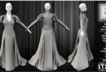 Sewing Lies Template & More / Sewing Lies Templates & More for Second Life Creators. Full perms.