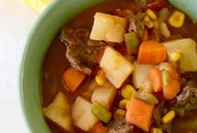 Soups createmine.com / Many different types of soups. A large variety of the soups may have homemade recipes and are derived from many cultural backgrounds . Very flavorful to say the least. #Soups #food #createmine.com / by Darlene Raysor
